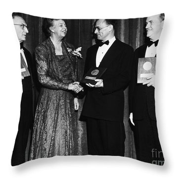 Nelson Algren (1909-1981) Throw Pillow by Granger