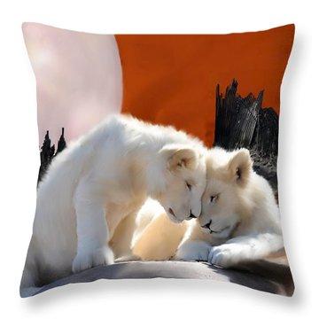 New Beginnings Throw Pillow by Shere Crossman