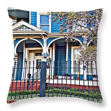 New Orleans Class Throw Pillow by Steve Harrington