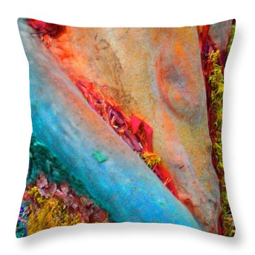Throw Pillow featuring the digital art New Way by Richard Laeton