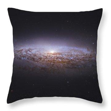 Ngc 2683, Unbarred Spiral Galaxy Throw Pillow by Robert Gendler