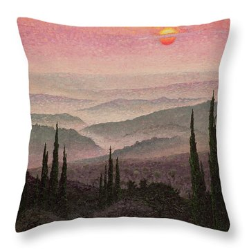 No. 126 Throw Pillow by Trevor Neal