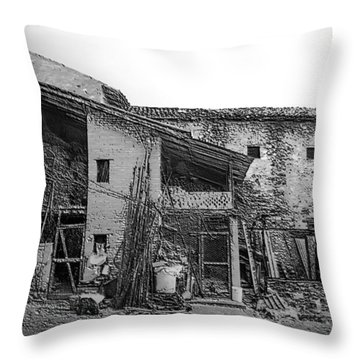 North Italy 4 Throw Pillow by Mauro Celotti