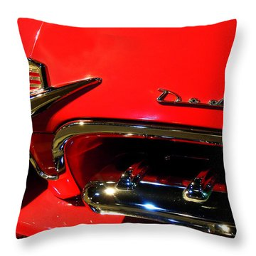 Old Dodge Throw Pillow by Farah Faizal