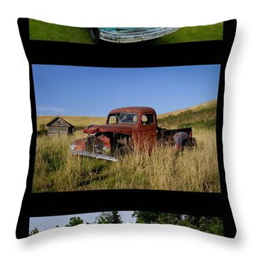 Old Guys 6 Throw Pillow by Idaho Scenic Images Linda Lantzy