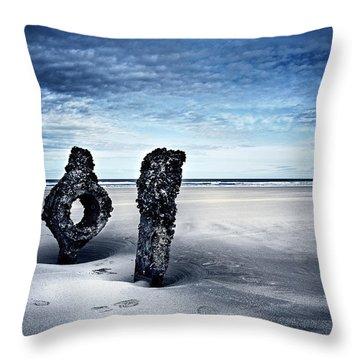 On A Coast Throw Pillow by Svetlana Sewell