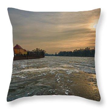 Ostrow Tumski Throw Pillow by Sebastian Musial