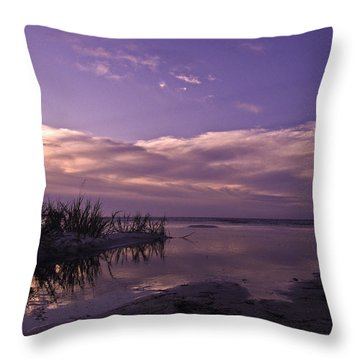 Out To Sea Throw Pillow by Brian Wright