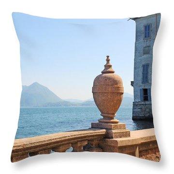 Palazzo Borromeo Throw Pillow by Joana Kruse