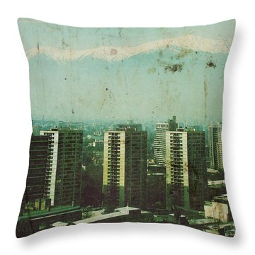 Paradise Lost Throw Pillow by Andrew Paranavitana