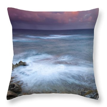 Pastel Storm Throw Pillow by Mike  Dawson