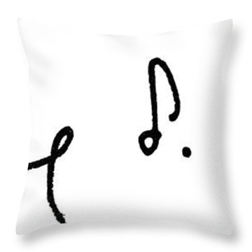 Pearl Buck (1892-1973) Throw Pillow by Granger