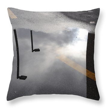 Periscopes Throw Pillow by Luke Moore