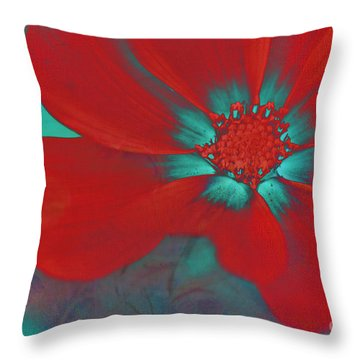 Petaline - T23b2 Throw Pillow by Variance Collections