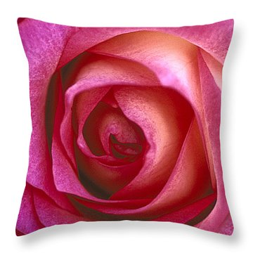 Pinklady Throw Pillow by Kathy Yates