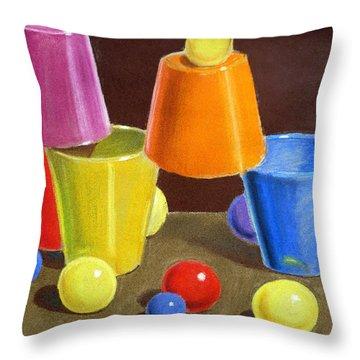 Playground  Throw Pillow by Irina Sztukowski