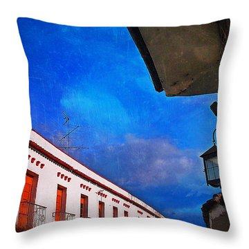 Popayan Throw Pillow by Skip Hunt