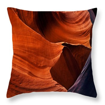Portal Of The Sun Throw Pillow by Mike  Dawson