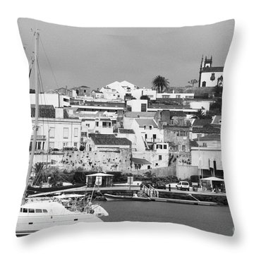 Portuguese City Throw Pillow by Gaspar Avila