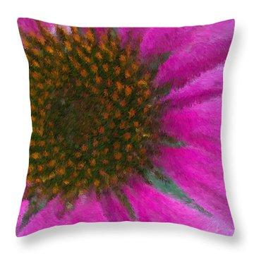Pow Wow Throw Pillow by Heidi Smith