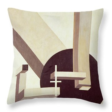 Proun 10 Throw Pillow by El Lissitzky