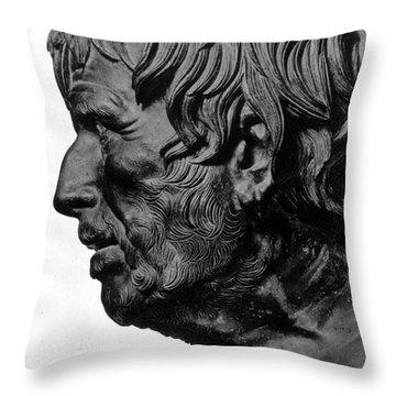 Pseudo-seneca Throw Pillow by Granger