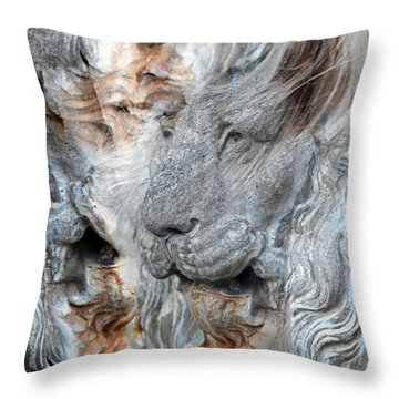 Psyche Throw Pillow by Elizabeth Hart