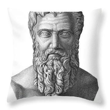 Publius Pertinax (126-193) Throw Pillow by Granger