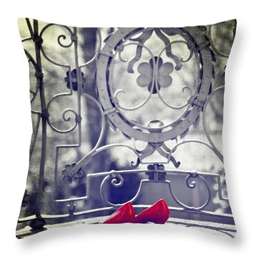 Pumps Throw Pillow by Joana Kruse