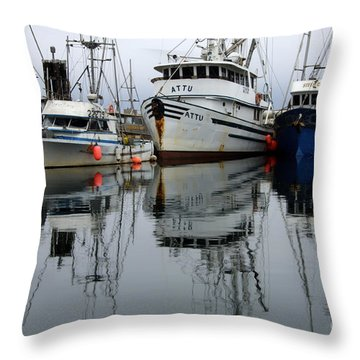 Quiet Time Throw Pillow by Bob Christopher