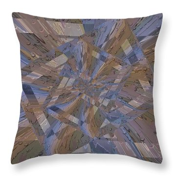 Rainy Day Portal 3 Throw Pillow by Tim Allen