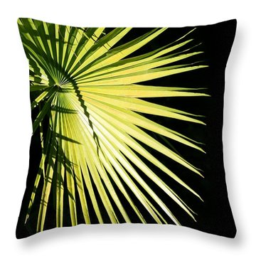 Rays Of Light Throw Pillow by Sabrina L Ryan