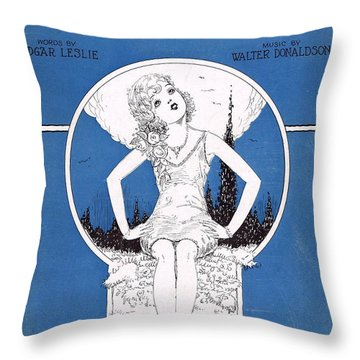 Reaching For Someone Throw Pillow by Mel Thompson