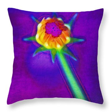 Reaching For The Light Throw Pillow by Judi Bagwell