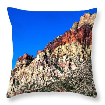 Red Rock Canyon 65 Throw Pillow by Randall Weidner