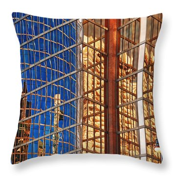 Reflections 2 Throw Pillow by Mauro Celotti