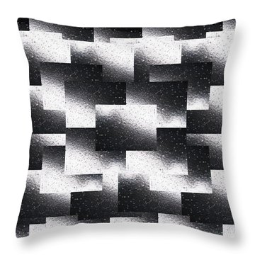 Reflections Of A Rain Shower Throw Pillow by Tim Allen