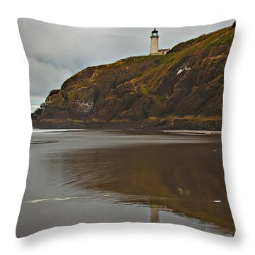 Reflections Throw Pillow by Robert Bales