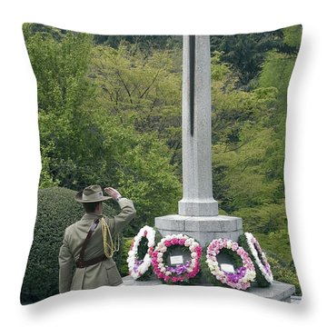 Representative Of The Australian Throw Pillow by Stocktrek Images