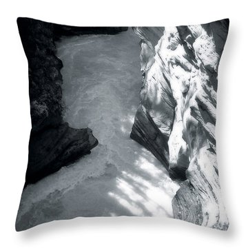River Fall Part 2 Throw Pillow by Marcin and Dawid Witukiewicz