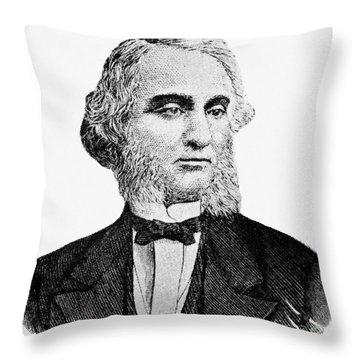 Robert Purvis (1810-1898) Throw Pillow by Granger