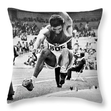 Roberto Carmona (1943- ) Throw Pillow by Granger