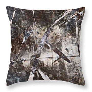 Robot Throw Pillow by Marek Lutek