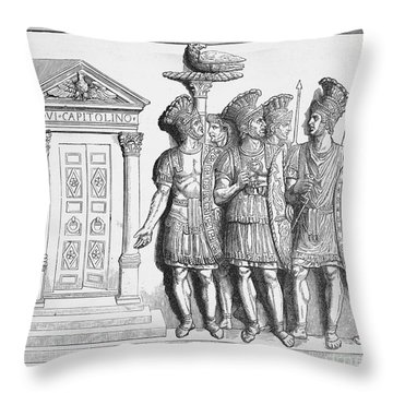 Rome: Praetorian Guards Throw Pillow by Granger