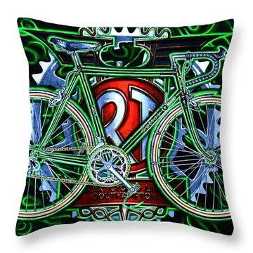 Rotrax Throw Pillow by Mark Howard Jones