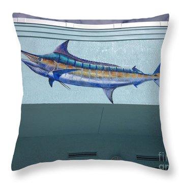 Sailfish Splash Park 1 Throw Pillow by Carey Chen