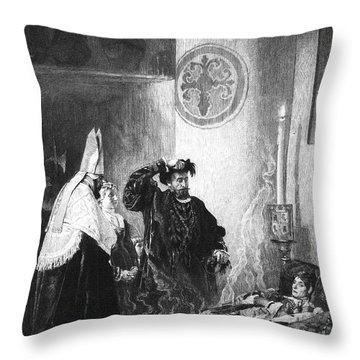 Saint Francis Borgia (1510-1572) Throw Pillow by Granger