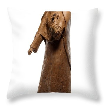 Saint Rose Philippine Duchesne Sculpture Throw Pillow by Adam Long