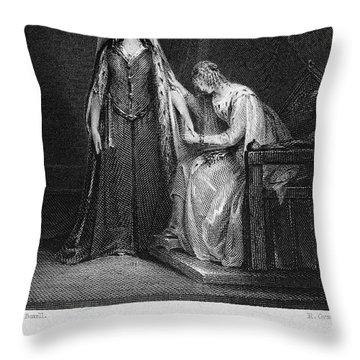Scott: Ivanhoe, 1832 Throw Pillow by Granger