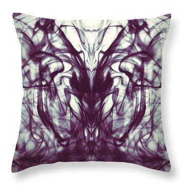 Sea Horse Throw Pillow by Sumit Mehndiratta